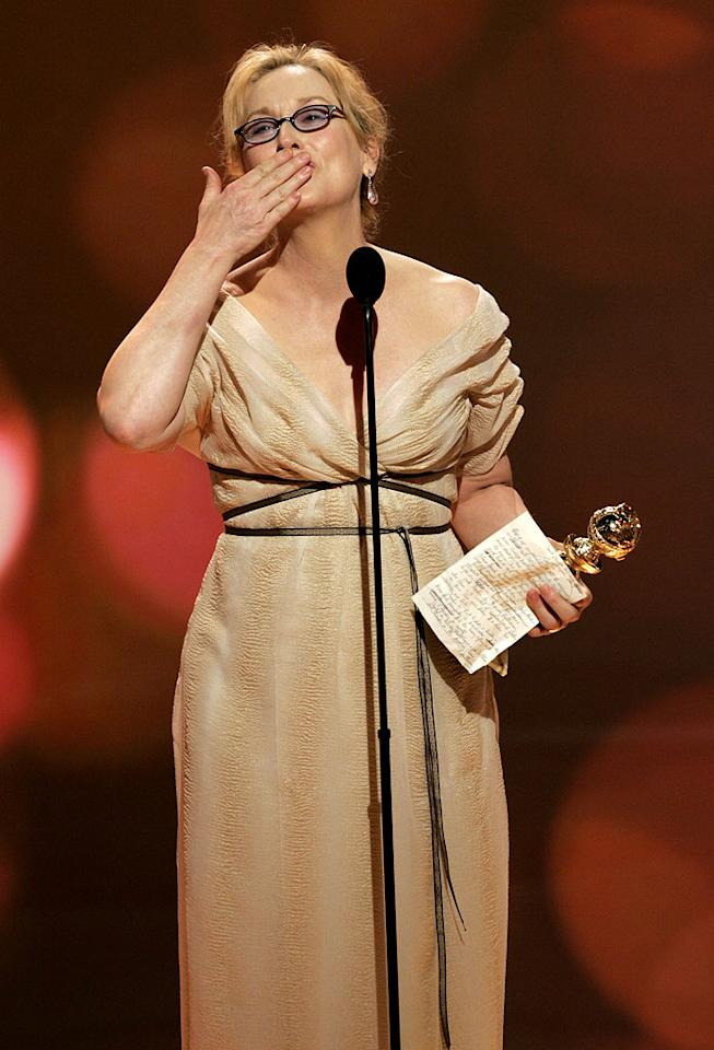 "<a href=""/meryl-streep/contributor/31440"">Meryl Streep</a> adds another trophey to her case and we still love her."
