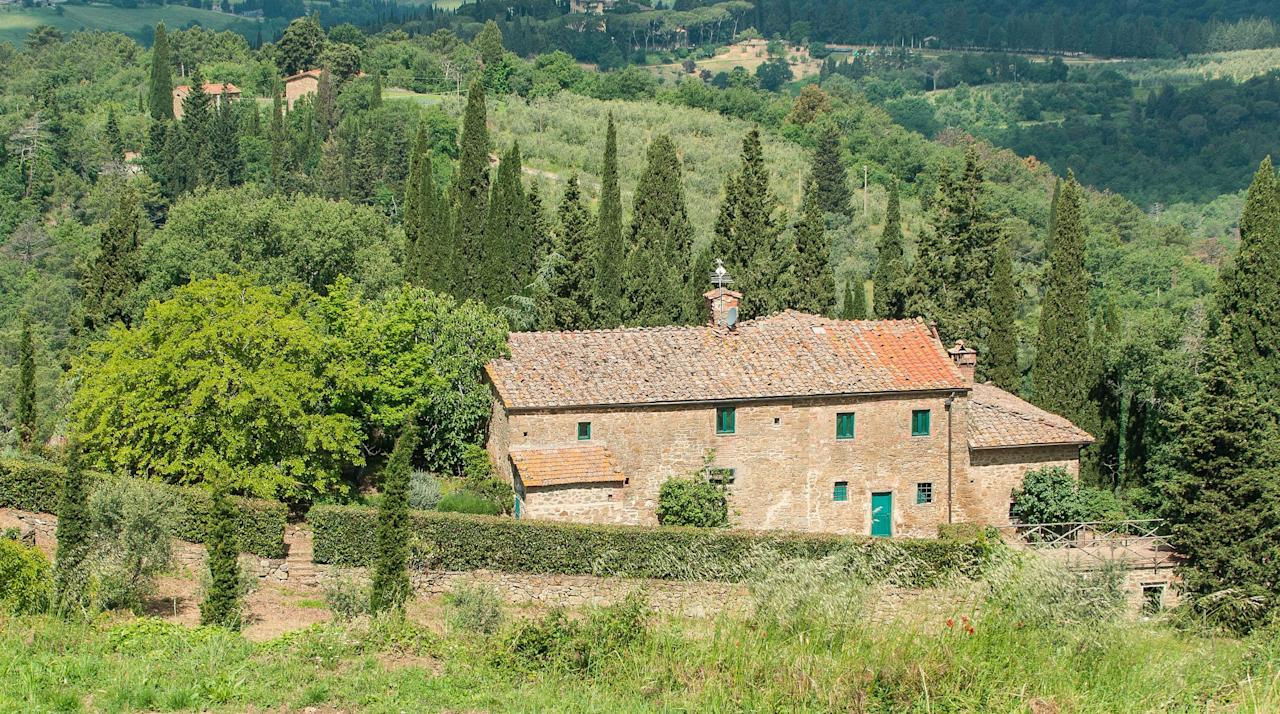"""<p><span>You'll easily find food and drink to enjoy in Chianti. This Tuscan wine region, known for its Chianti Classico red, is also famed for its ripe fruit and veg, and 'ribollita', a kind of soup thickened with bread. </span><a rel=""""nofollow"""" href=""""https://www.qualityvillas.com/tuscany/greve-in-chianti/la-riserva""""><span>La Riserva </span></a><span>is a 16th century former farmhouse on its own wine estate, which you can hire with a private chef if you like. Seven nights with </span><a rel=""""nofollow"""" href=""""https://www.qualityvillas.com/""""><span>Quality Villas</span></a><span> from £1,580. [Photo: La Riserva]</span> </p>"""