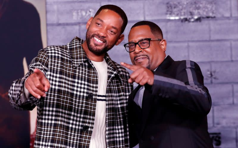On Super Bowl weekend, 'Bad Boys' scores atop N. America box office