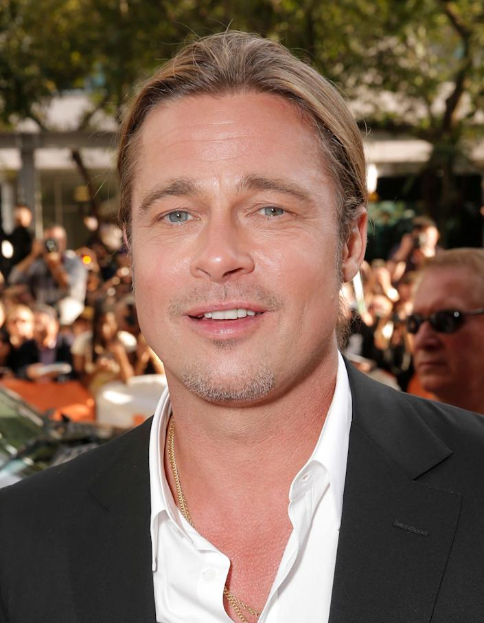 "<a href=""http://www.dailymail.co.uk/tvshowbiz/article-2091647/Brad-Pitt-quit-smoking-marijuana-turned-doughnut.html#ixzz24BzxWK00"" rel=""nofollow noopener"" target=""_blank"" data-ylk=""slk:""I was hiding out from the celebrity thing, I was smoking way too much [marijuana]."""" class=""link rapid-noclick-resp"">""I was hiding out from the celebrity thing, I was smoking way too much [marijuana].""</a>"
