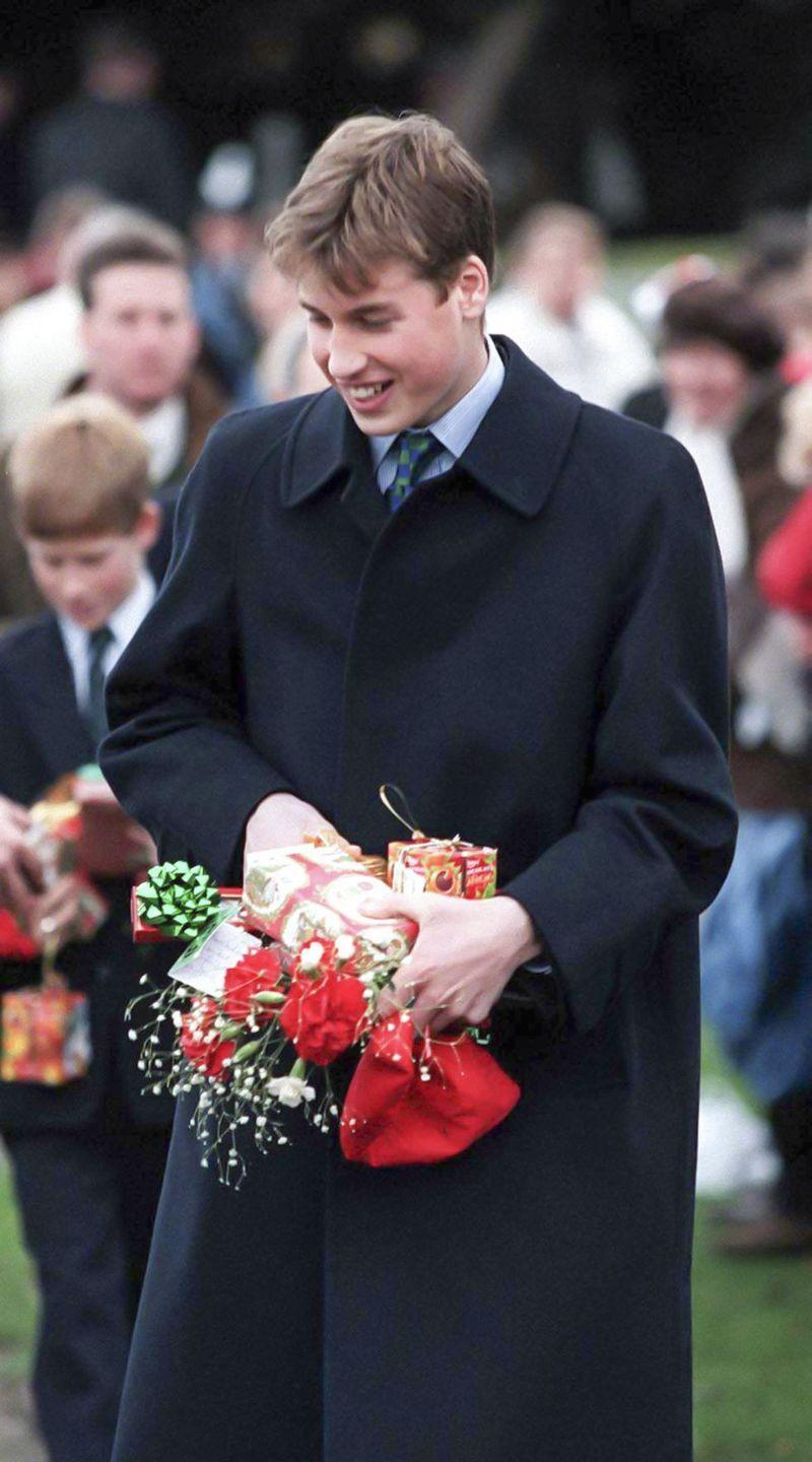 <p>Prince William attends the Christmas Day service at Sandringham Church.</p>