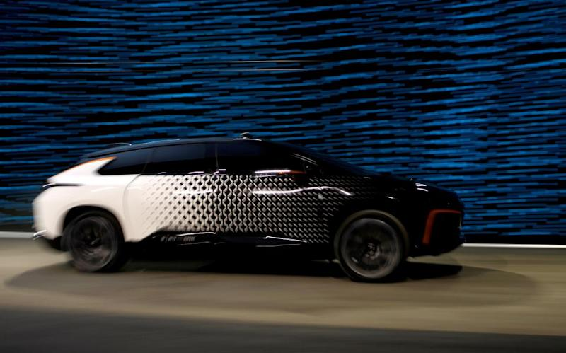faraday future fastest electric car