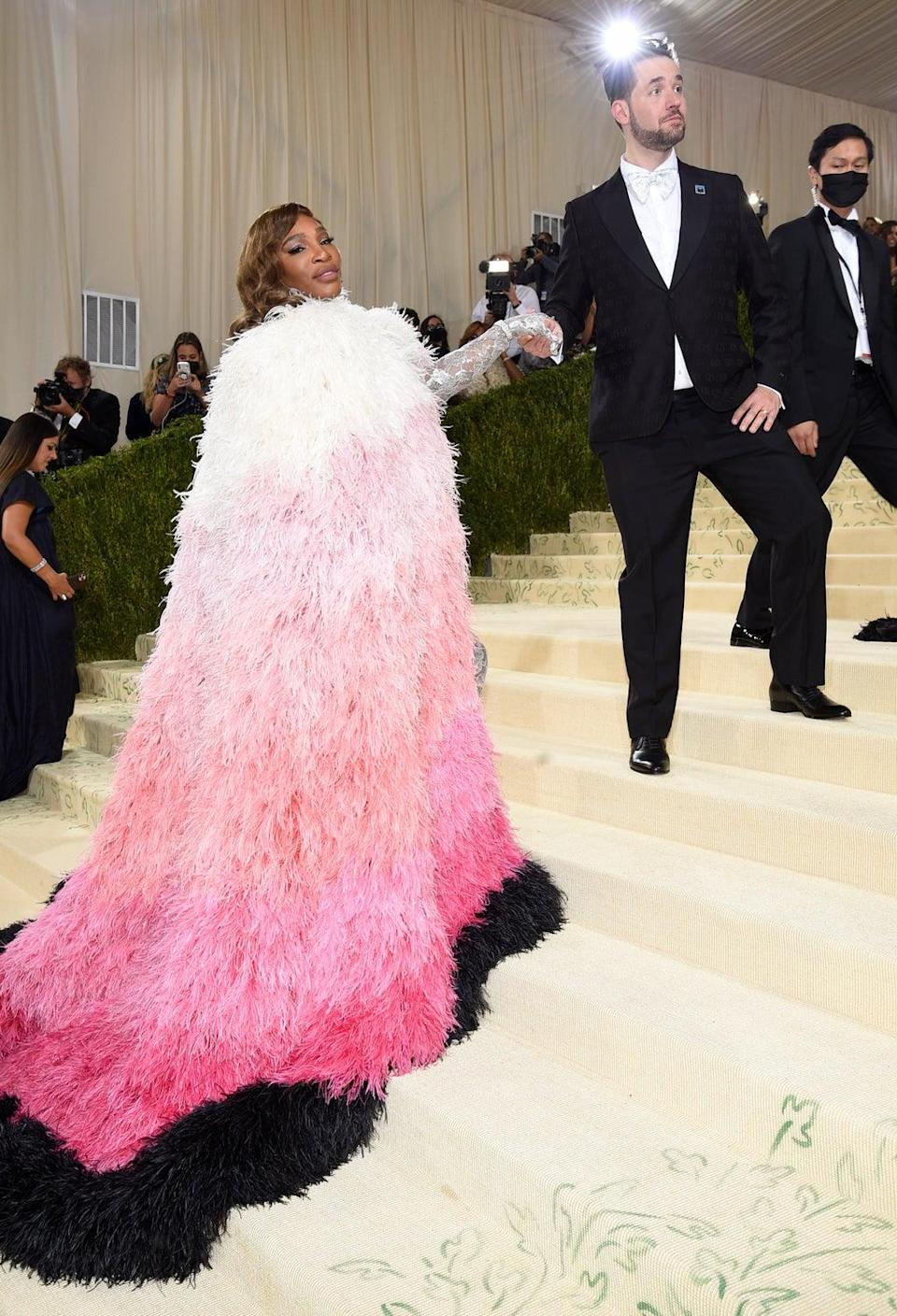 Serena Williams commanded attention at the Met Gala (Evan Agostini/Invision/AP) (AP)