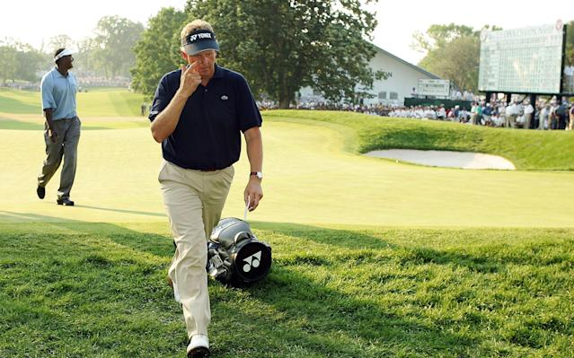 <span>Colin Montgomerie took a double-bogey six on the 72nd hole of the 2006 US Open</span> <span>Credit: Getty Images </span>