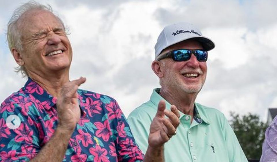 Bill Murray and brother Ed (Credit: Instagram/William Murray Golf)