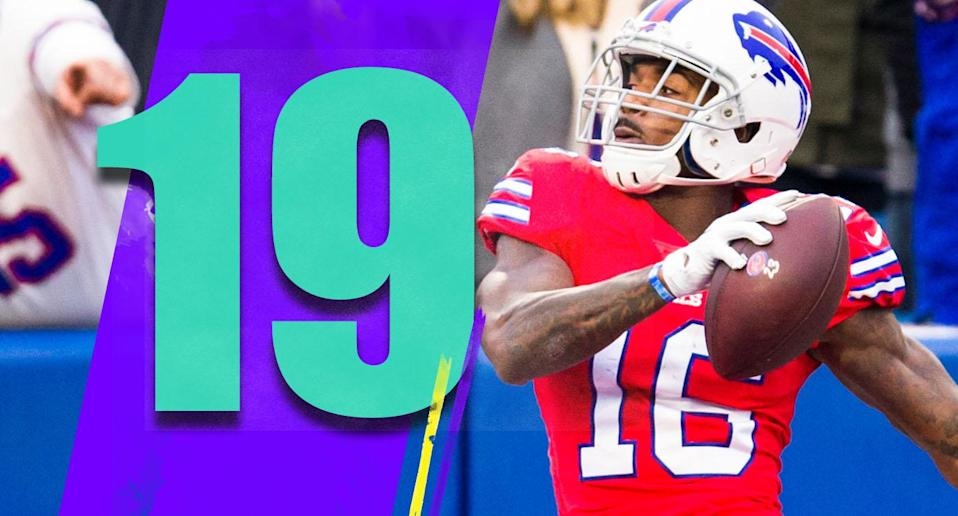 <p>How many of the Bills who had an offensive touch on Sunday have you heard of? We'll spot you Josh Allen, and here are the others: Keith Ford, Marcus Murphy, Patrick DiMarco, Ray-Ray McCloud, Isaiah McKenzie, Robert Foster, Jason Croom, Zay Jones. (Robert Foster) </p>