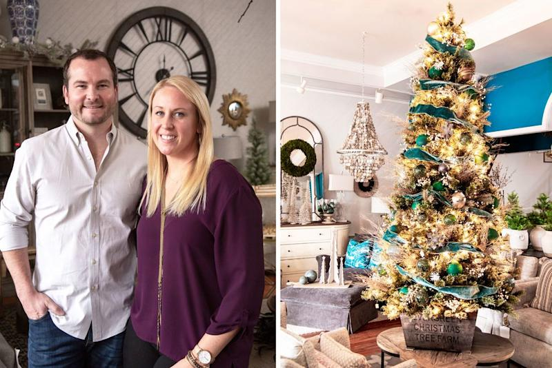 For holiday flair, check out all the festive decor at 27 South Interiors owned by Carolyn and Nick McCarter. | Helen Norman