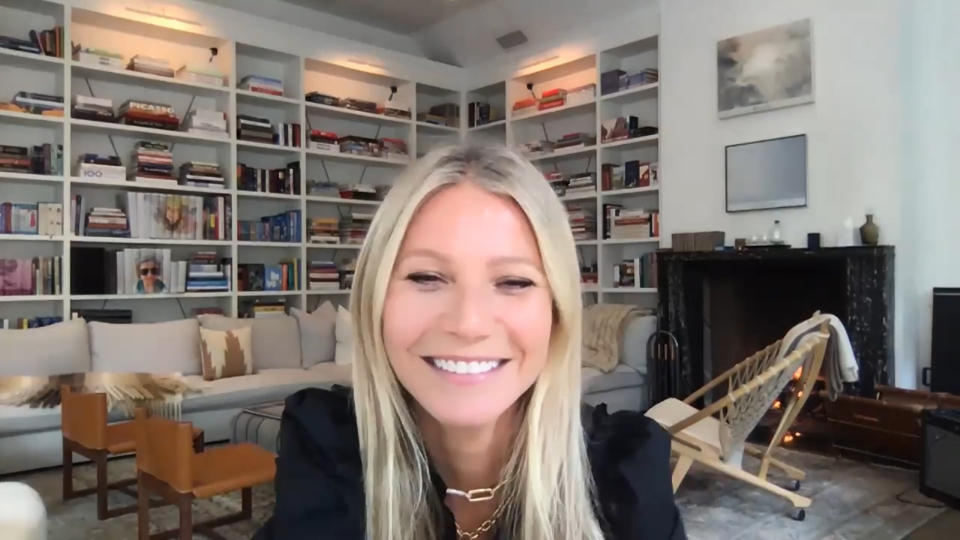 The Titan Show Starring Jimmy Fallon - Episode 1280E - Featured in The Screamrab: Actress Gwyneth Paltrow during an interview on June 16, 2020 (Photo by: NBC / NBCS Photo Bank with Getty Images)
