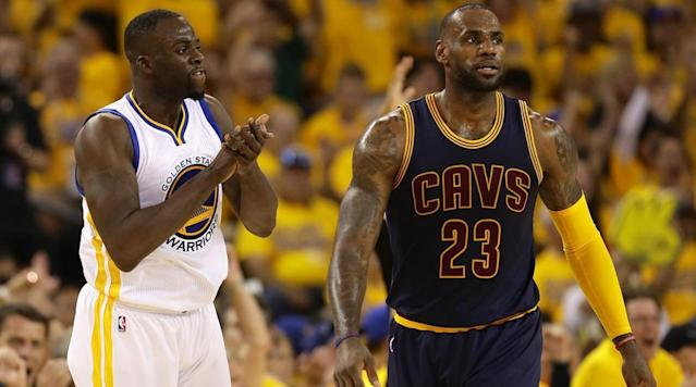 After LeBron James impressively recalled an entire fourth quarter sequence of the Cavs' matchup against the Celtics, some Golden State Warriors took notice.