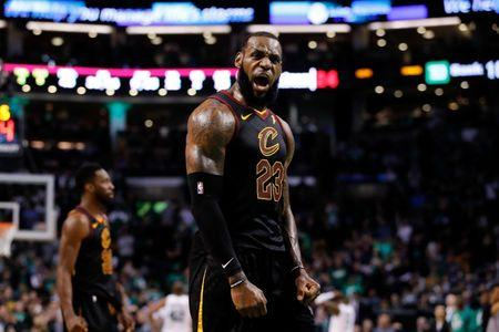 NBA Playoffs Cleveland Cavaliers at Boston Celtics