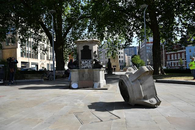 Following the Black Lives Matter protests, which has seen monuments of British figures toppled, a wider discussion about Britain's colonial past is emerging. (PA)