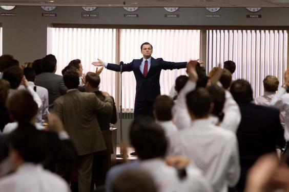 It's worth remembering 'The Wold of Wall Street' sees Leonardo DiCaprio at his best (Moviestore/Rex)