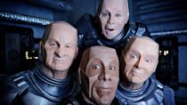<p> <strong>UK:</strong> All4, Amazon Prime Video, UKTV Play </p> <p> <strong>US:</strong> Amazon Prime Video, AcornTV, Hulu </p> <p> Now here we have some folk who understand what it means to be truly isolated. All aboard the spaceship Red Dwarf we have Lister, the last human being alive, the hologram Rimmer, service mechanoid Kryten, and Cat who evolved from Lister's pregnant pet. The later series will never live up to the likes of earlier episodes like Backwards or (if a little on the nose) Quarantine, but we still enjoy spending time in the company of this group. Watch it, or Mr Flibble won't be best pleased. </p>