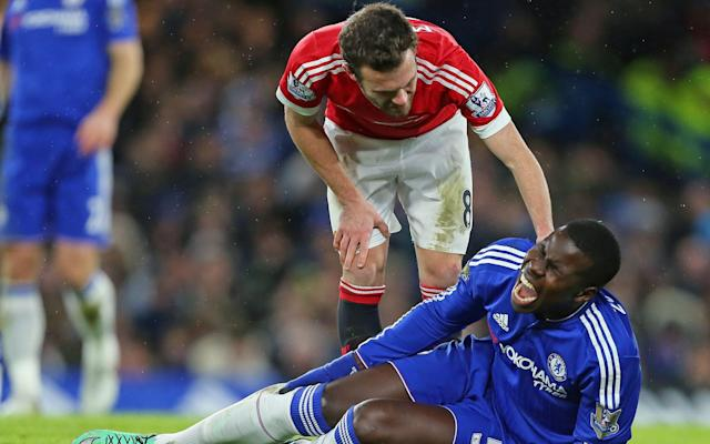<span>Zouma has recently returned from a long spell on the sidelines</span> <span>Credit: REX </span>