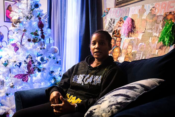 "Aishia Lankford talks Dec. 2 about her daughter, Breasia Terrell, two days before what would have been Terrell's 11th birthday. Terrell, who had been missing since July, was found dead March 22 by fishermen in a rural area near DeWitt. ""We want to thank the community, law enforcement, friends and family who have put countless of hours to help bring Bree home,"" Lankford said in a statement Wednesday after police announced that the remains found near DeWitt were Terrell's."