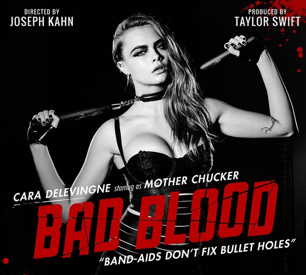 Cara Delevingne as Mother Chucker in 'Bad Blood'