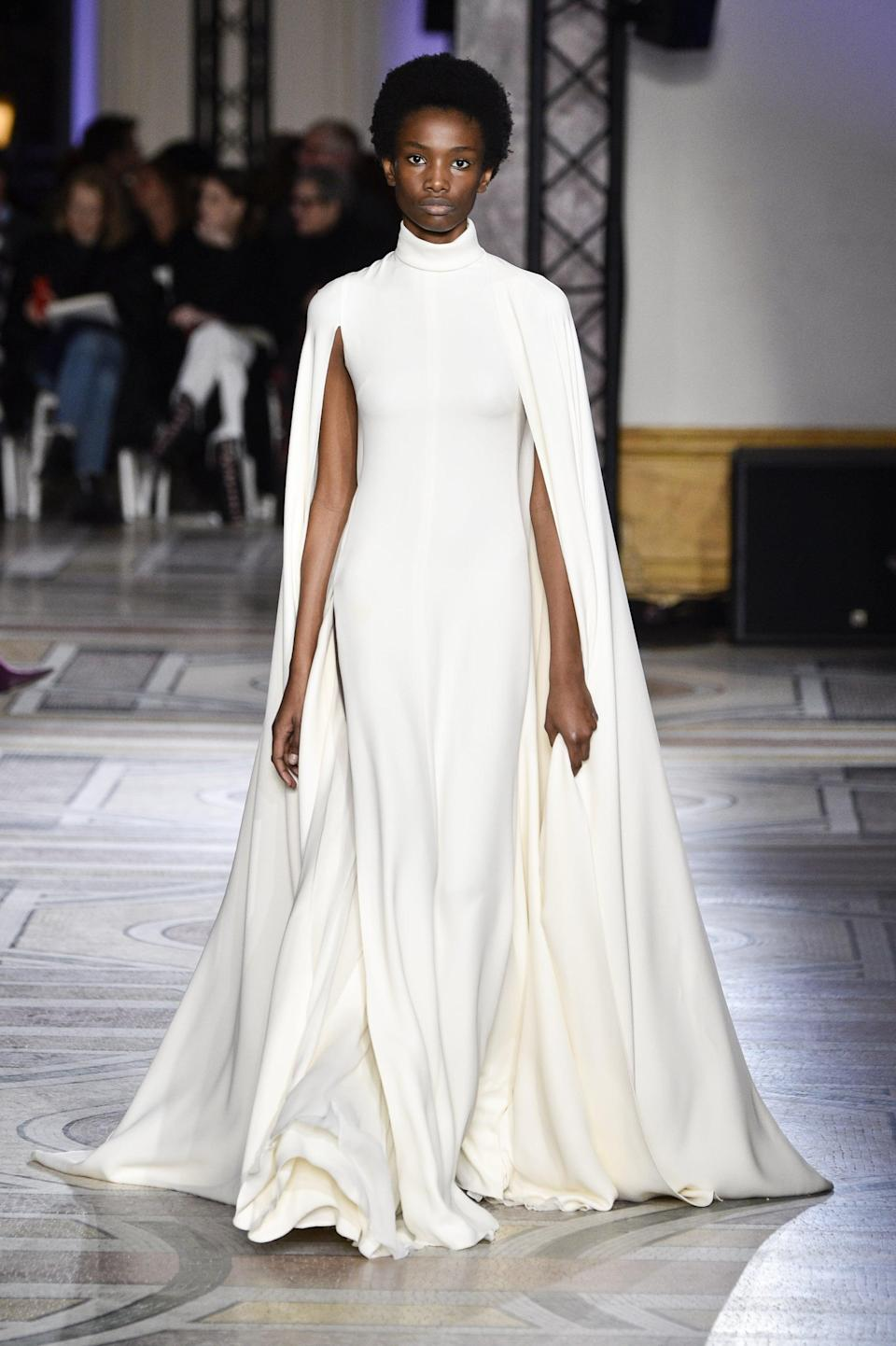 <p>Having walked her very first show for Marc Jacobs, newcomer Imari Karanja was sure to be a star from the start. Here's the crazy part: Imari is under 20 and has already walked for Christian Dior, Tom Ford, Hermès, and Giambattista Valli.</p>