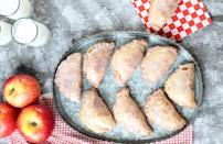 """<p>Whether you want something sweet when you're on the go, or you want to make servings easier to handle, these fried apple hand pies are ideal. Make them for your next <a href=""""https://www.thedailymeal.com/best-games-to-play-dinner-parties?referrer=yahoo&category=beauty_food&include_utm=1&utm_medium=referral&utm_source=yahoo&utm_campaign=feed"""" rel=""""nofollow noopener"""" target=""""_blank"""" data-ylk=""""slk:game night dinner party"""" class=""""link rapid-noclick-resp"""">game night dinner party</a> or whenever you have guests over.</p> <p><a href=""""https://www.thedailymeal.com/recipes/fried-apple-hand-pies-recipe?referrer=yahoo&category=beauty_food&include_utm=1&utm_medium=referral&utm_source=yahoo&utm_campaign=feed"""" rel=""""nofollow noopener"""" target=""""_blank"""" data-ylk=""""slk:For the Fried Apple Hand Pies recipe, click here."""" class=""""link rapid-noclick-resp"""">For the Fried Apple Hand Pies recipe, click here.</a></p>"""