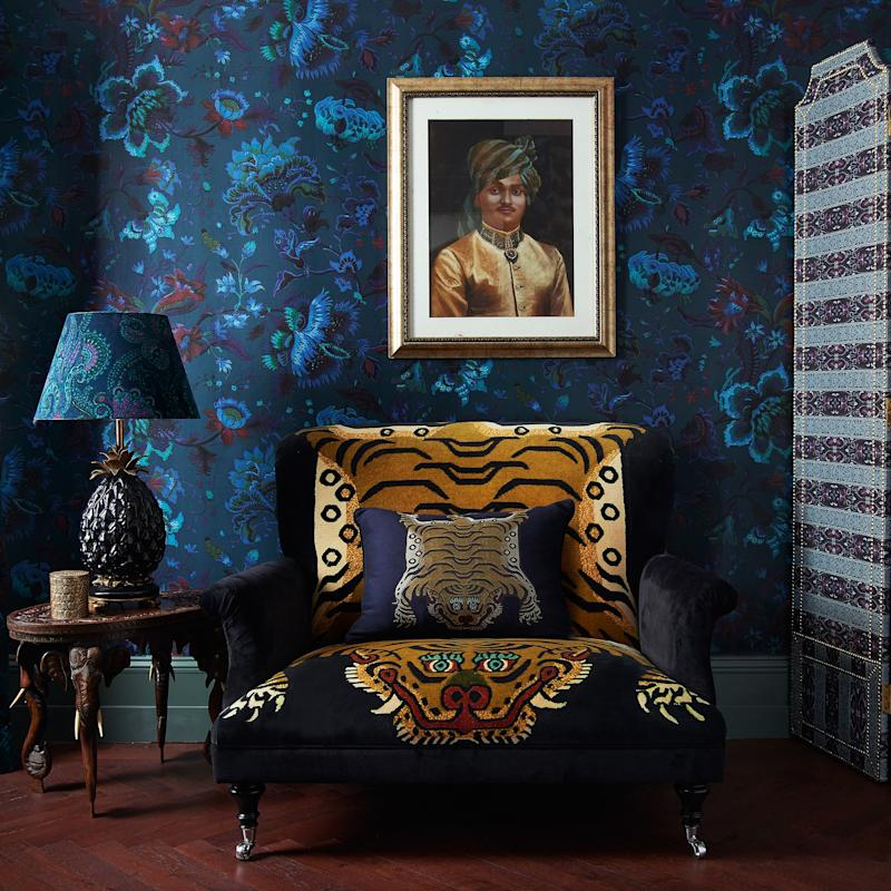 House of Hackney's Collaboration With Cult Wallpaper Brand Zuber Arrives at Bergdorf Goodman