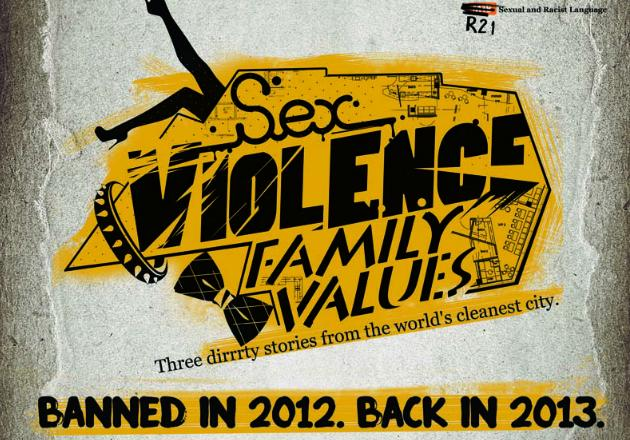 Sex.Violence.FamilyValues has been given a 14 March release date (The Butter Factory photo)