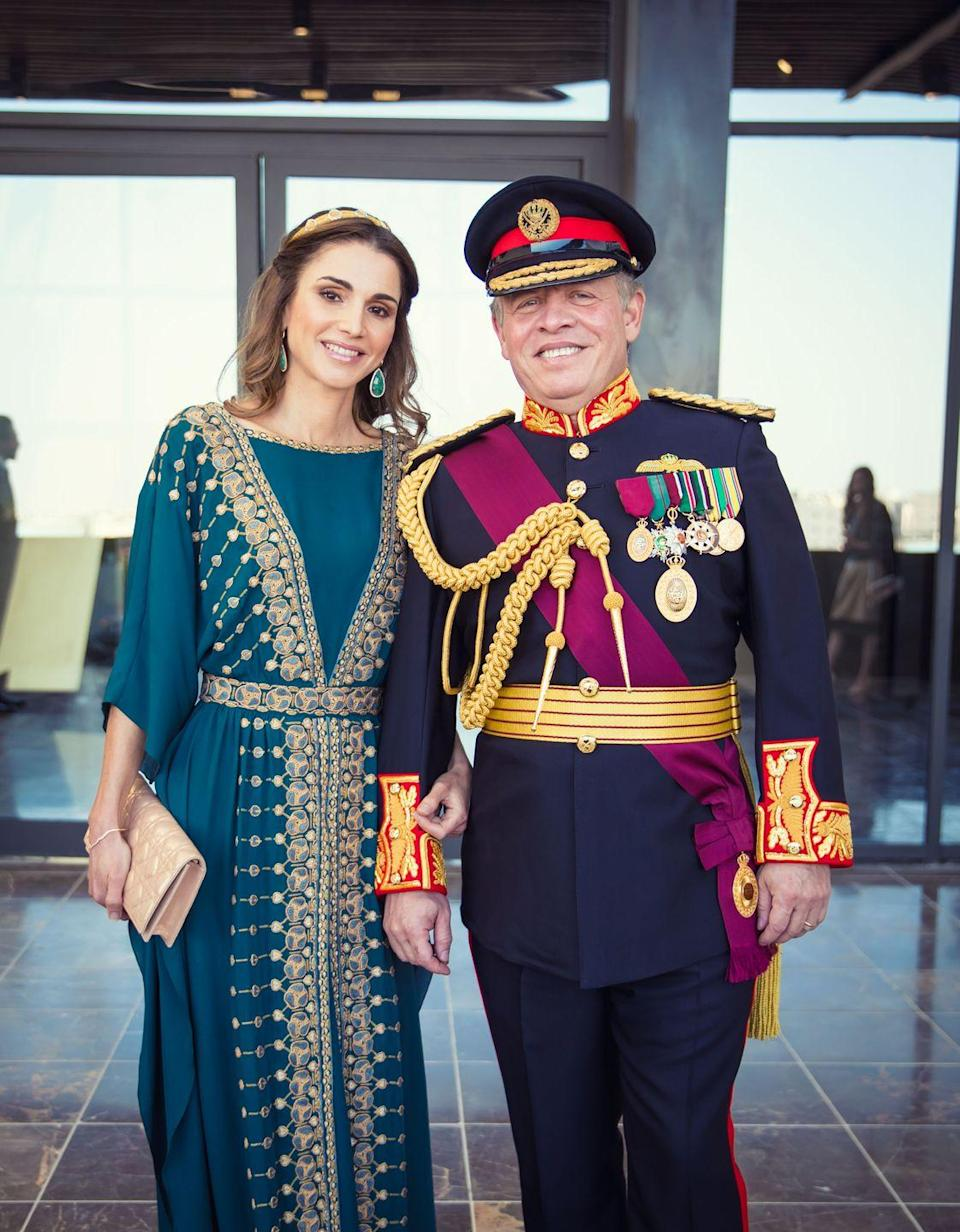 <p>Al-Yassin married then-Prince Abdullah of Jordan in 1993, and the couple became king and queen in 1999. She earned a business administration degree at school in Cairo, later working at Citibank and Apple in Amman, Jordan. It was there where she met then-Prince Abdullah at a dinner party. </p>