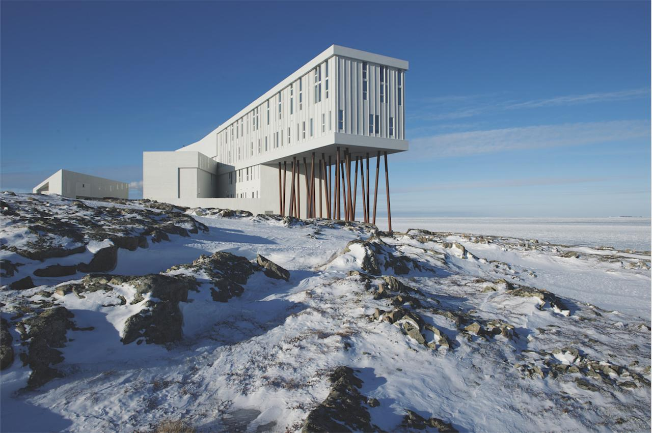 Set on the jagged rocks of Canada's easternmost reaches, Fogo Island Inn brings modern luxury to an offshore, isolated island that's said to experience seven seasons and envelop guests inside a blanket of North Atlantic silence.