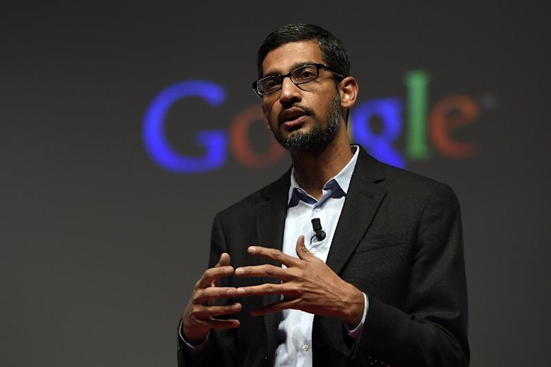 The Google unit, to be headed by current company vice president Sundar Pichai, will include search, ads, maps, YouTube, Android and related technology infrastructure (AFP Photo/Lluis Gene)