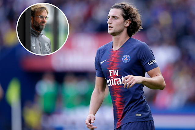 Gossip: Could Liverpool swoop for the signing of PSG midfielder Adrien Rabiot?