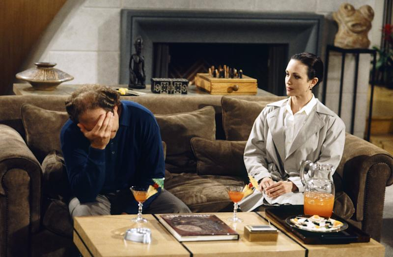 Kelsey Grammer as Doctor Frasier Crane, Bebe Neuwirth as Doctor Lilith Sternin   Chris Haston—NBCUniversal via Getty Images