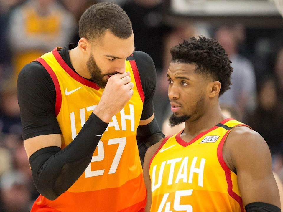 Shortly after Rudy Gobert tested positive, his teammate Donovan Mitchell found out he has the coronavirus as well.