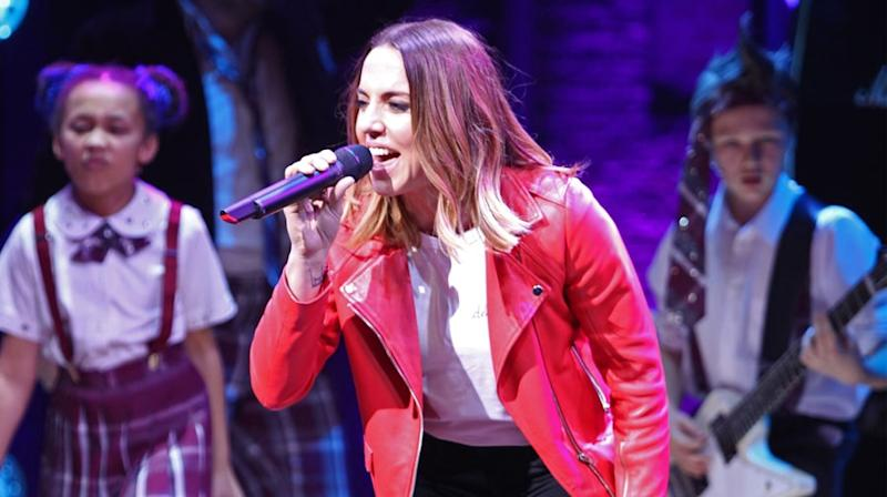 Watch Mel C Perform Spice Girls' 'Wannabe' With 'School of Rock'