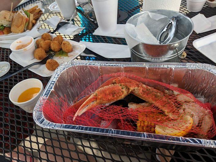 """<p><strong><a href=""""https://www.yelp.com/biz/franks-fish-and-seafood-market-columbus"""" rel=""""nofollow noopener"""" target=""""_blank"""" data-ylk=""""slk:Frank's Fish And Seafood Market"""" class=""""link rapid-noclick-resp"""">Frank's Fish And Seafood Market</a>, Columbus </strong></p><p>""""Food is always fresh and delicious! I love their menu. It's ever-changing based on their supply of fish."""" — Yelp user <a href=""""https://www.yelp.com/user_details?userid=25ZJ_A7Csm3ZU4J2mpQeYQ"""" rel=""""nofollow noopener"""" target=""""_blank"""" data-ylk=""""slk:Aya R."""" class=""""link rapid-noclick-resp"""">Aya R.</a></p><p>Photo: Yelp/<a href=""""https://www.yelp.com/user_details?userid=1RdFpB5XQdR74X7W6OuS4w"""" rel=""""nofollow noopener"""" target=""""_blank"""" data-ylk=""""slk:John L."""" class=""""link rapid-noclick-resp"""">John L.</a></p>"""