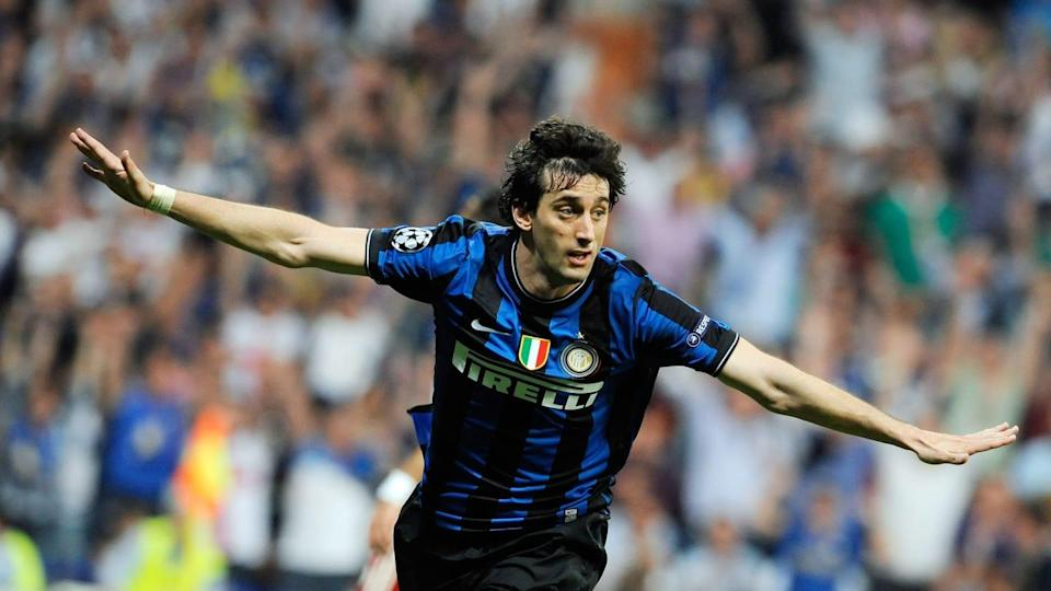 Diego Milito | Giuseppe Bellini/Getty Images