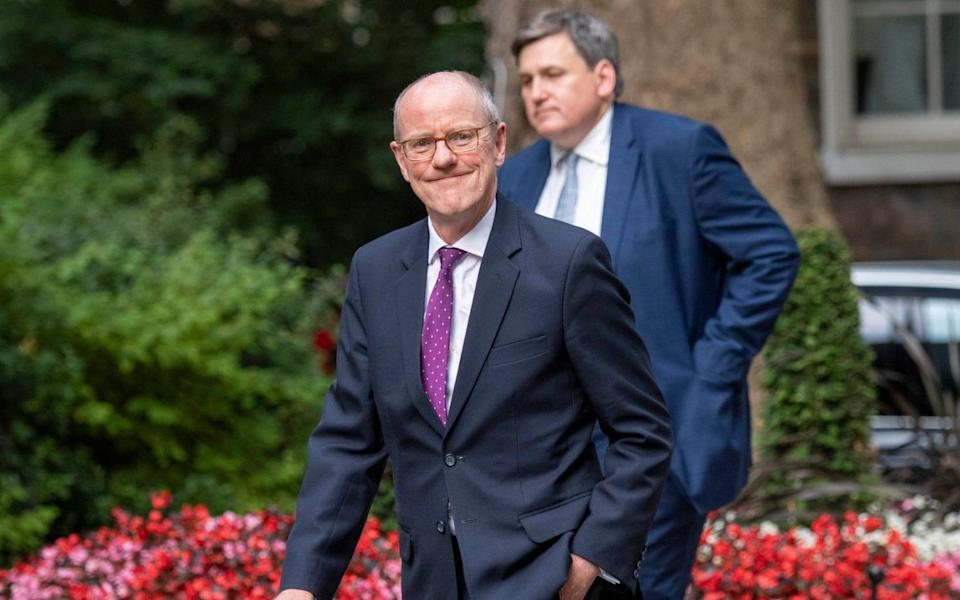Nick Gibb's six-year spell as Schools Minister came to an end on Thursday - Paul Grover for The Telegraph