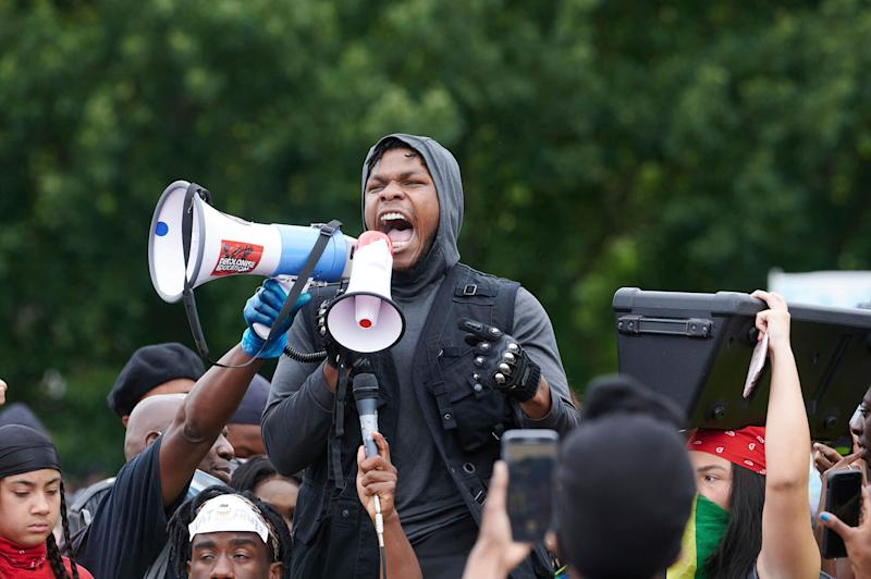 Photo by: KGC-247/STAR MAX/IPx 2020 6/3/20 Demonstators at a Black Lives Matter Protest in Hyde Park in London over the death of George Floyd. (Photo: KGC-247/STAR MAX/IPx)