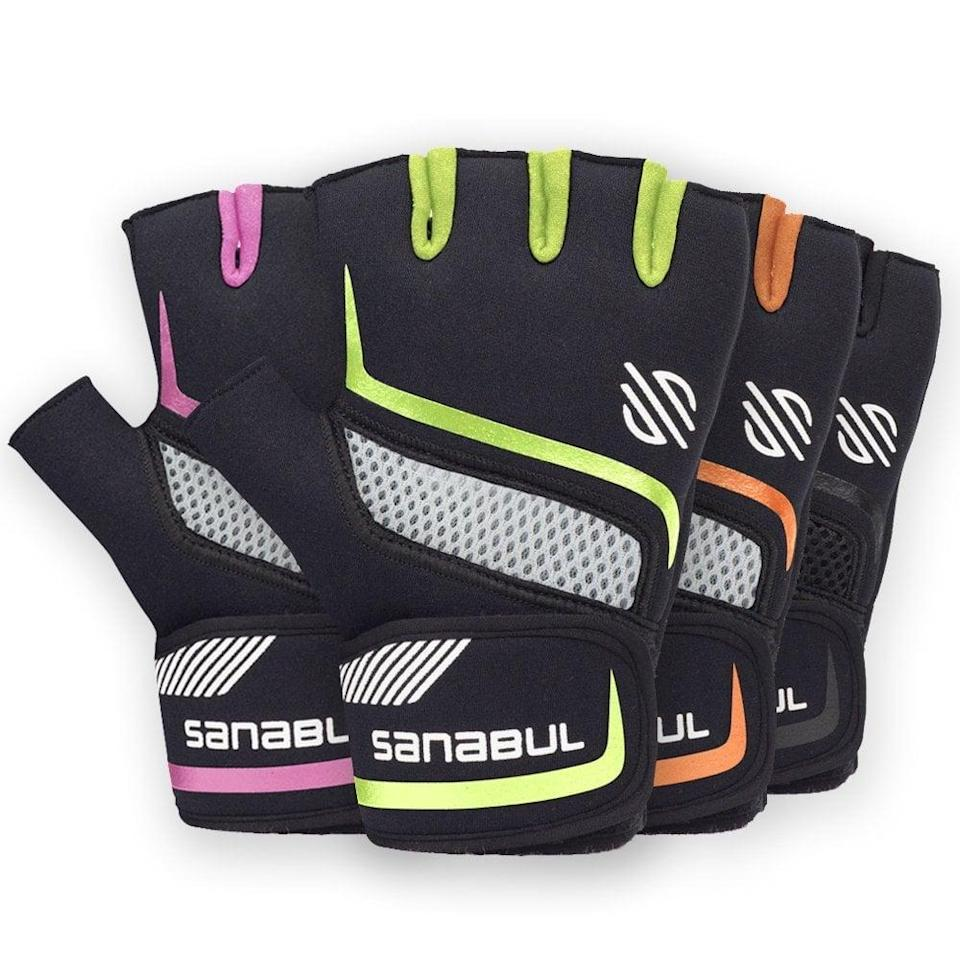<p>If they're getting into boxing or even weightlifting, these <span>Sanabul Boxing Handwrap Gloves</span> ($18) make an awesome stocking stuffer.</p>