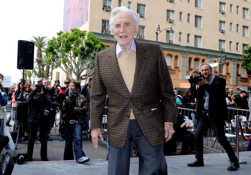 US actor Kirk Douglas attends the star ceremony for Indian conductor Zubin Mehta on the Hollywood Walk of Fame in Hollywood, California, USA, 01 March 2011(reissued 05 February 2020). According to media reports, Kirk Douglas has died aged 103 on 05 February 2020. EFE/Paul Buck/Archivo