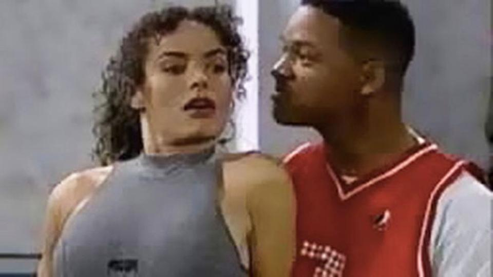 Galyn Gorg plays Helena in Boxing Helena a 1996 episode of Fresh prince of Bel-Air opposite Will Smith