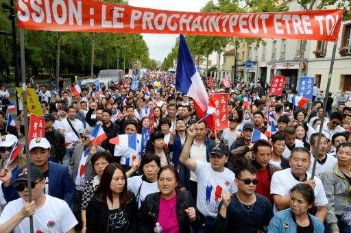The death of tailor Zhang Chaolin after an attack in northern Paris in 2016 sparked protests