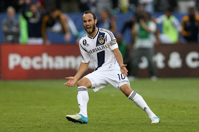 Landon Donovan last played professional soccer for the Los Angeles Galaxy in 2016. (Getty)