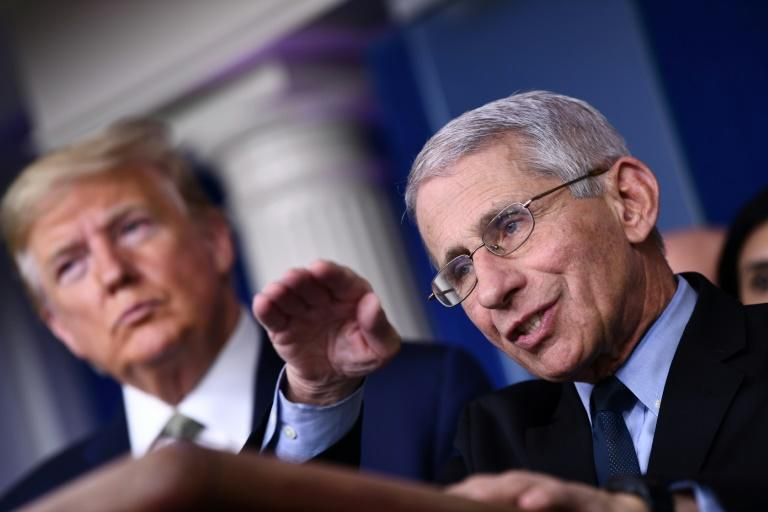 Anthony Fauci says Americans may be able to take summer holidays after the peak of coronavirus passes (AFP Photo/Brendan Smialowski)