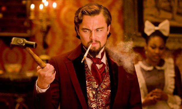 SNUB: Leonardo DiCaprio Leo is having a bad week. Not only was he completely ignored by the Academy on Thursday for his turn as sadistic Southern plantation owner Calvin J. Candie, but he also lost the Golden Globe to his verbose German co-star Christoph Waltz. Perhaps he was too good at playing someone so profoundly reprehensible?
