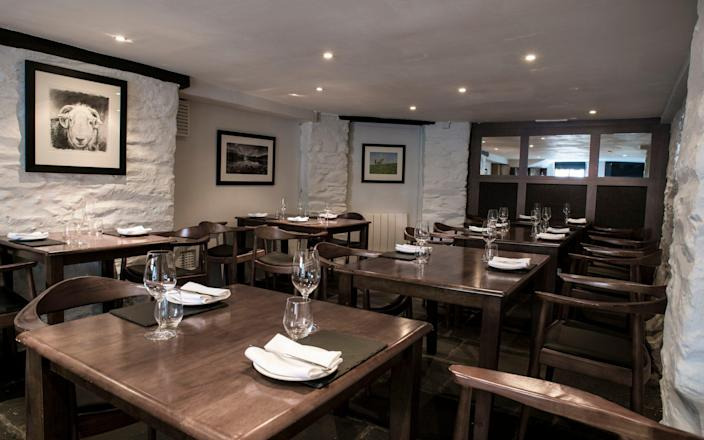 Cumbrian restaurant The Old Stamphouse, Ambleside - Phil Rigby
