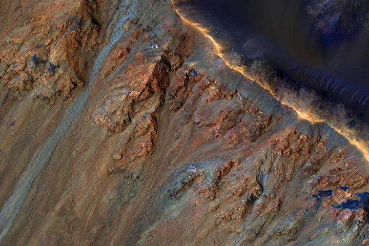 best space photos krupac crater