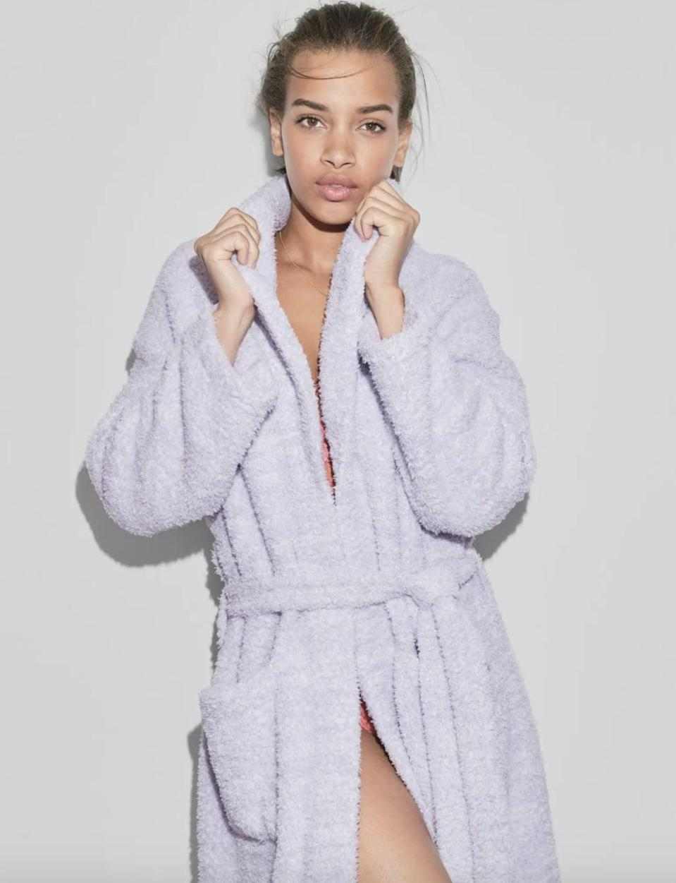 <p>With over 800 rave reviews, this <span>Barefoot Dreams CozyChic Unisex Robe</span> ($99) is Nordstrom's bestseller.</p>