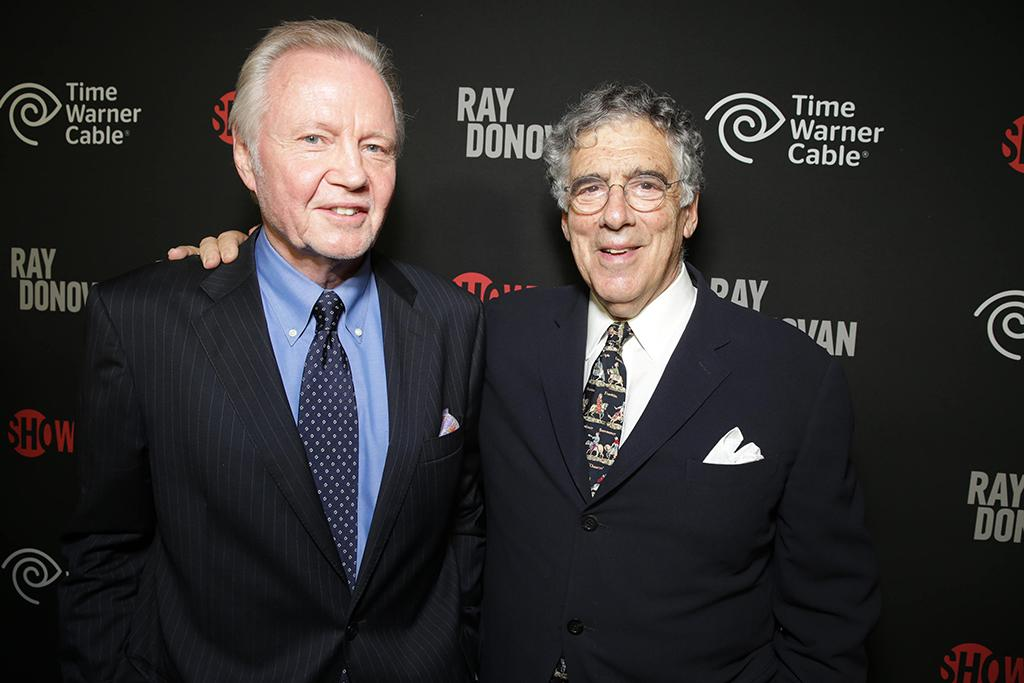 Jon Voight and Elliot Gould at the Showtime premiere of the new drama series Ray Donovan presented by Time Warner Cable, on Tuesday, June, 25, 2013 in Los Angeles. (Photo by Eric Charbonneau/Invision for Showtime/AP Images)