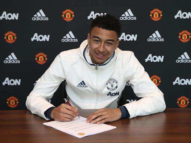 Lingard has put pen to paper on a new contract: Getty