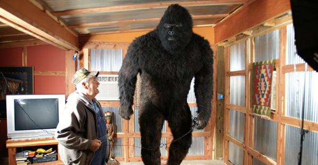 Life-size bigfoot replica up for auction on eBay
