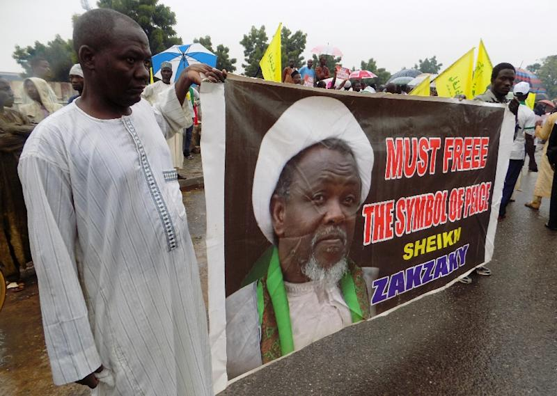 Zakzaky has been in custody since December 2015 despite court orders that he should be freed