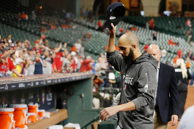 Game 5 provided the perfect setting to hatch David Price and Boston Red Sox pitching coach Dana LeVangie's plan. (Getty Images)